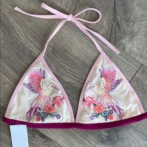 TopShop Embroidered Bikini ( Top 8 Bottom 6)